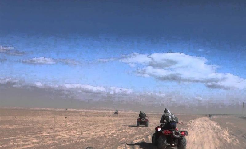 Чем заняться в Египте в ноябре, Сафари на квадроциклах