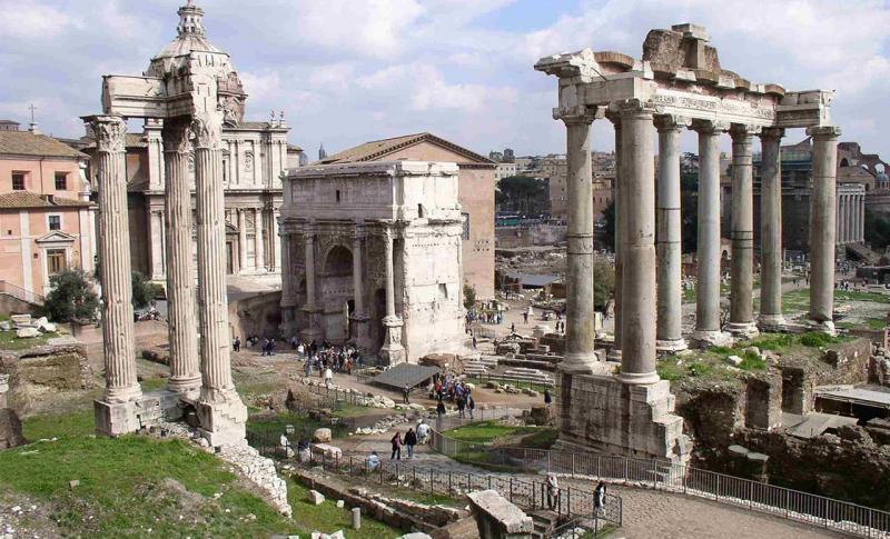 Чем заняться в Италии в ноябре, Руины Форума