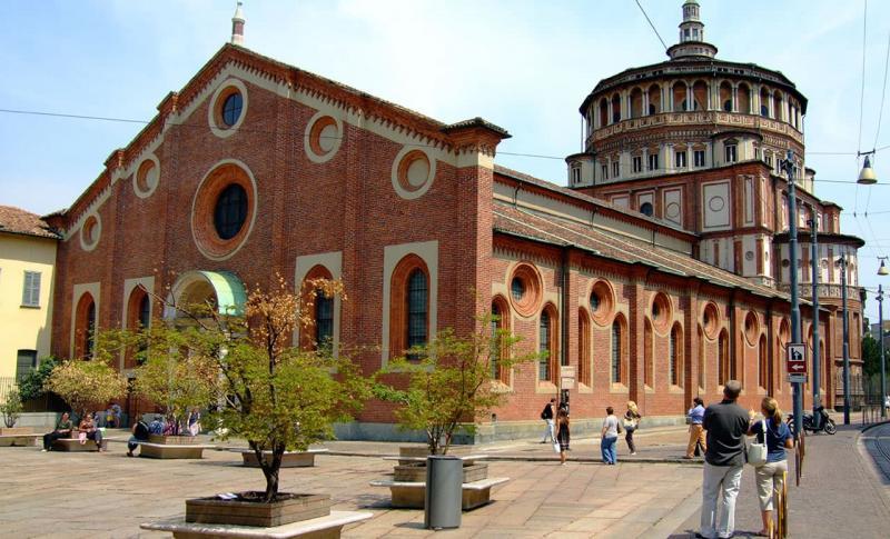 Чем заняться в Италии в ноябре, Санта-Мария-делле-Грацие