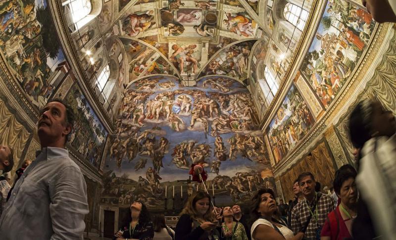 Чем заняться в Италии в ноябре, Сикстинская капелла