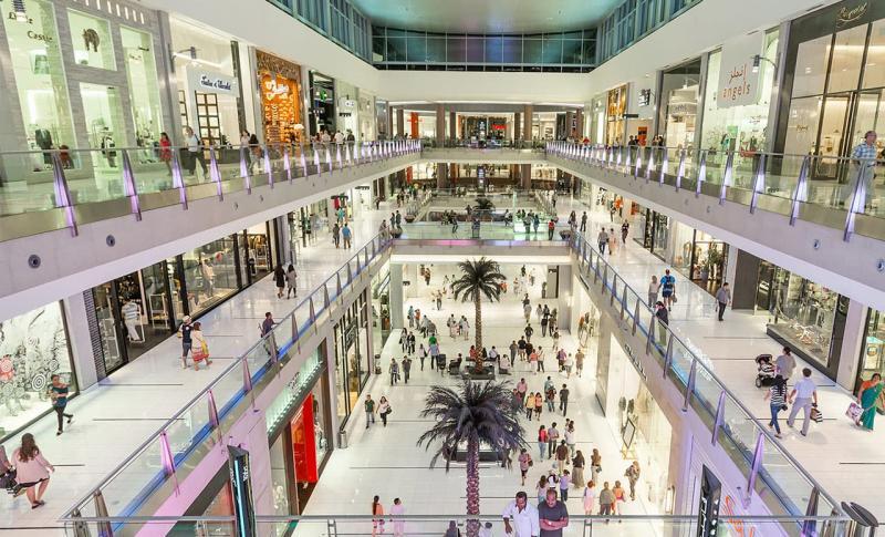 Чем заняться в ОАЭ в ноябре, Дубаи-молл