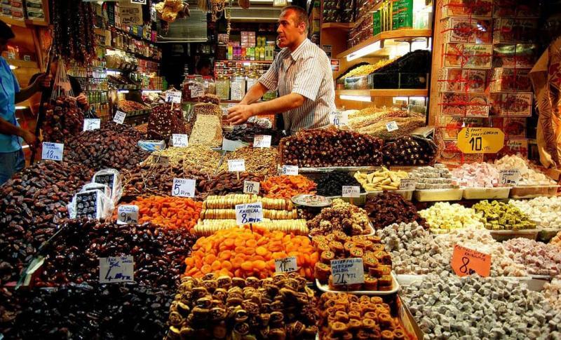 Турция, египетский базар