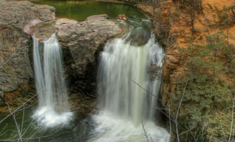 Адыгея, Водопады Руфабго