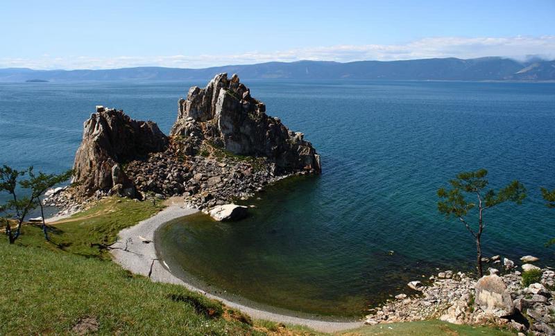 Байкал, Скала Шаманка на острове Ольхон