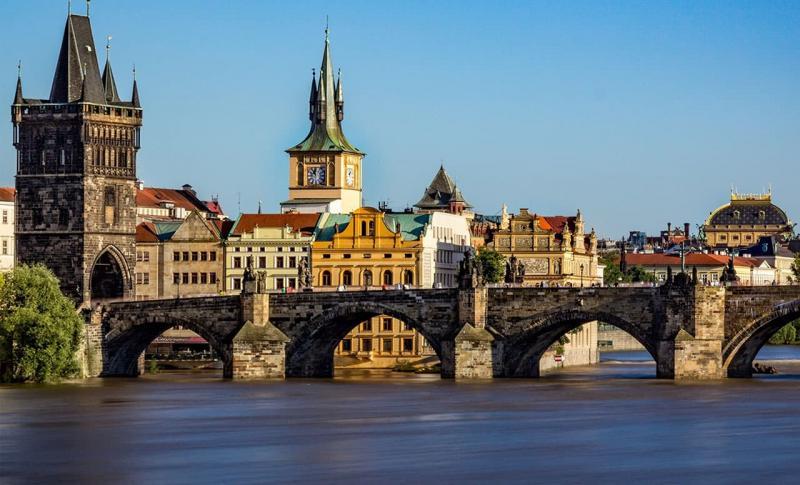 Чехия, Карлов мост в Праге
