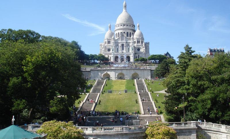 Франция. Собор Сакре-Кер