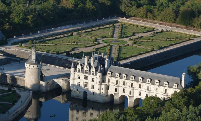 Франция, Замок Шенонсо