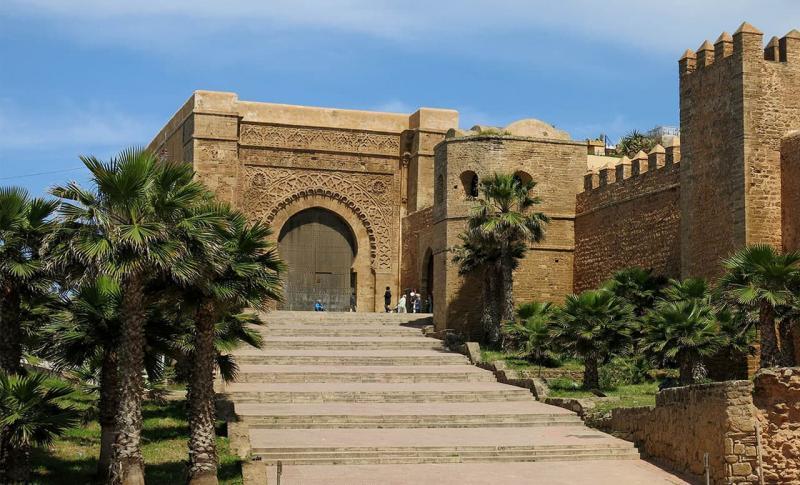 Марокко, Цитадель Касба Удайя в Рабате
