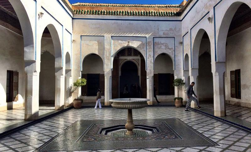 Марокко, Дворец Бахия в Марракеше