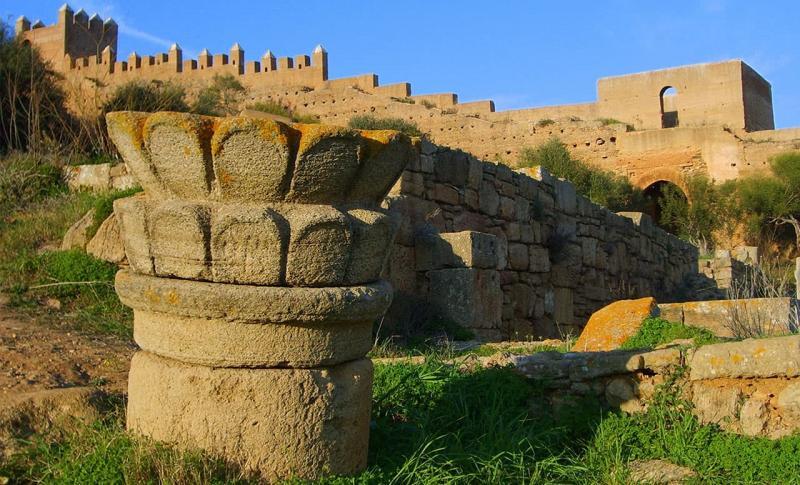 Марокко, Крепость Шелла с некрополем