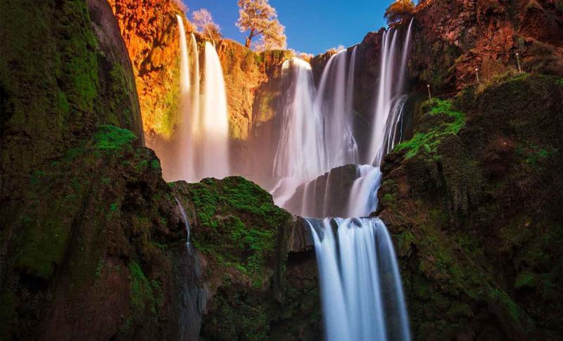 Марокко, Водопад Узуд