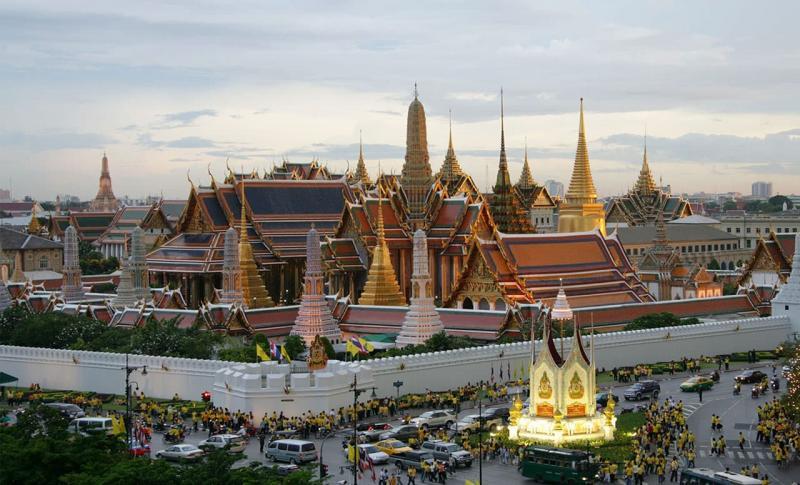 Таиланд, Большой Королевский дворец в Бангкоке