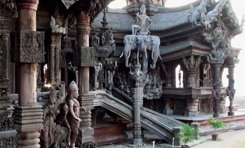 Таиланд, Храм Истины в Паттайе