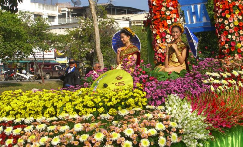Чем заняться на Кипре в мае, Цветочный фестиваль