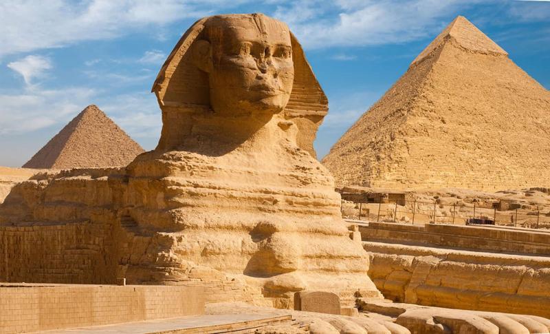 Египет Большой сфинкс