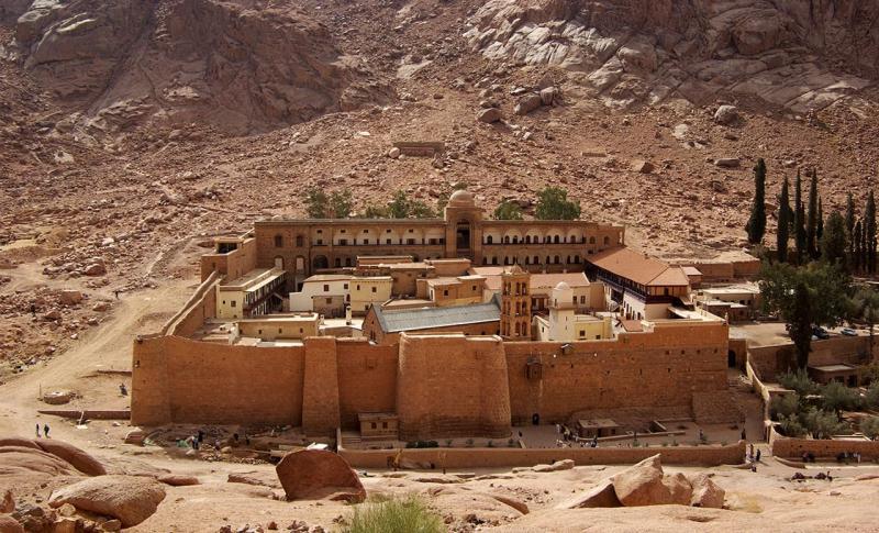 Египет Монастырь Святой Екатерины