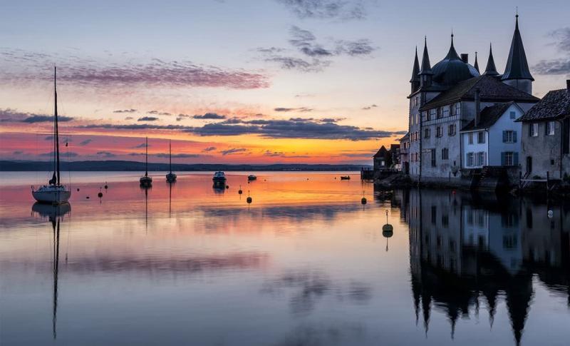 Швейцария Боденское озеро