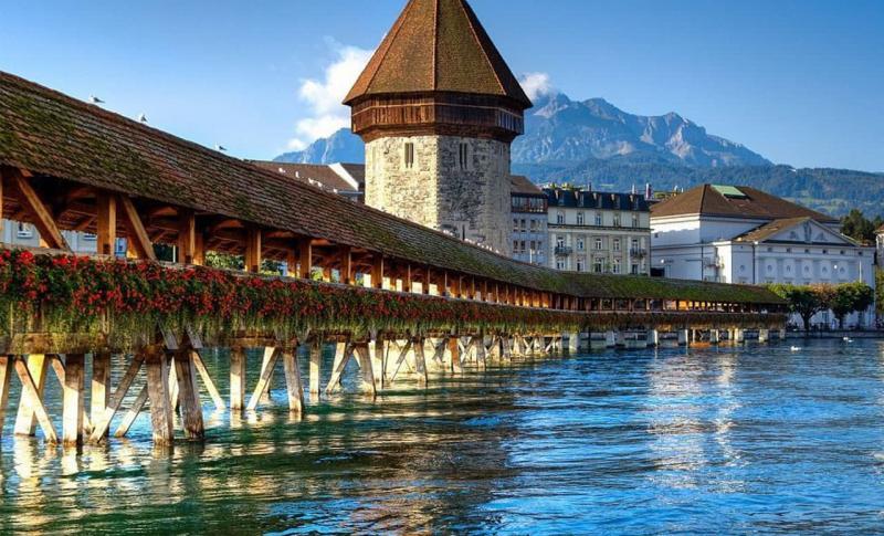 Швейцария Капельбрюкке