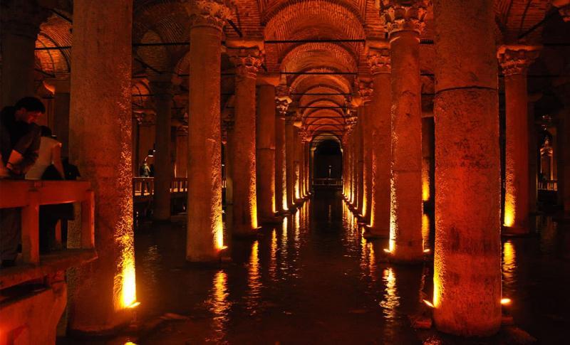 Турция Цистерна Базилика