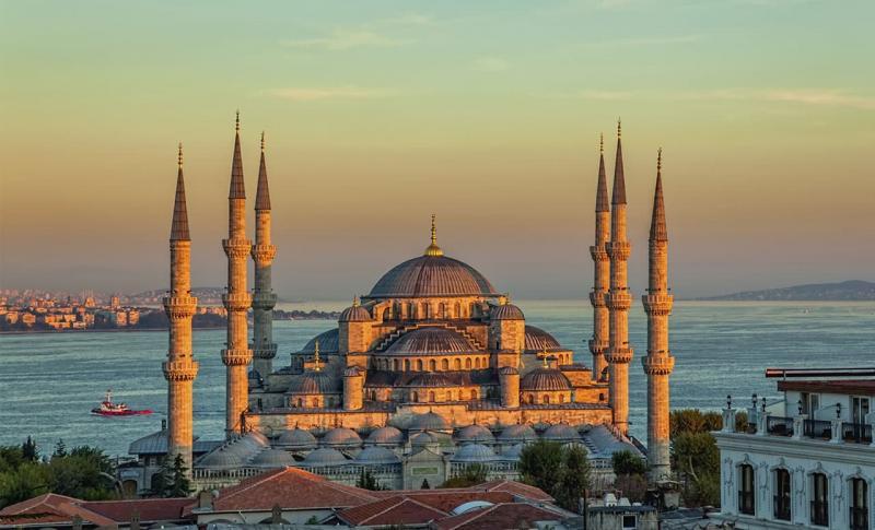 Турция Голубая мечеть