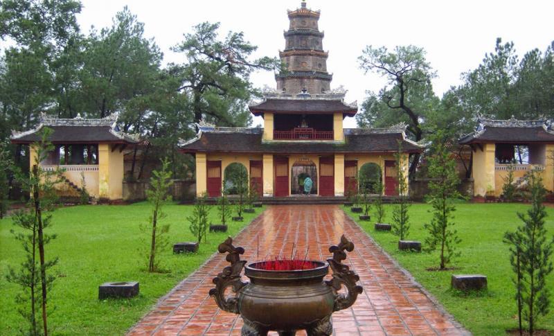 Вьетнам Пагода Тхиен