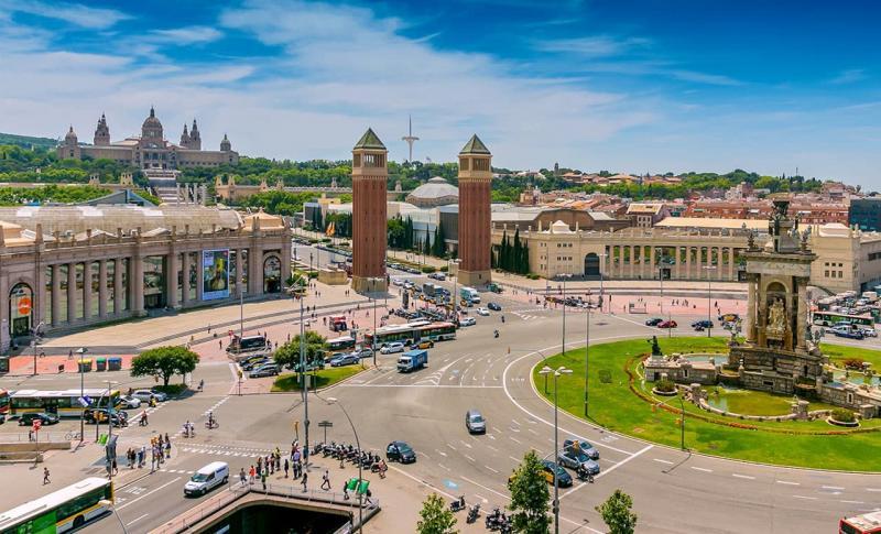 Барселона, Центральная площадь