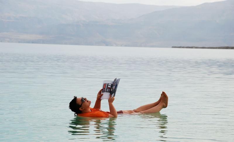 Израиль, День отдыха на Мертвом море