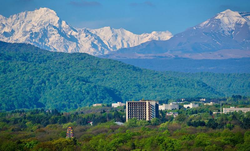 Кавказские Минеральные Воды, Вид на горы