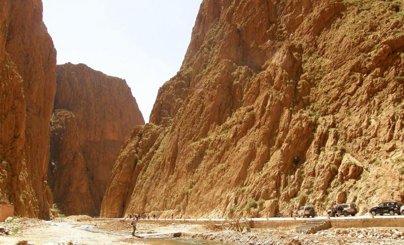 Марокко, Ущелье Тодра