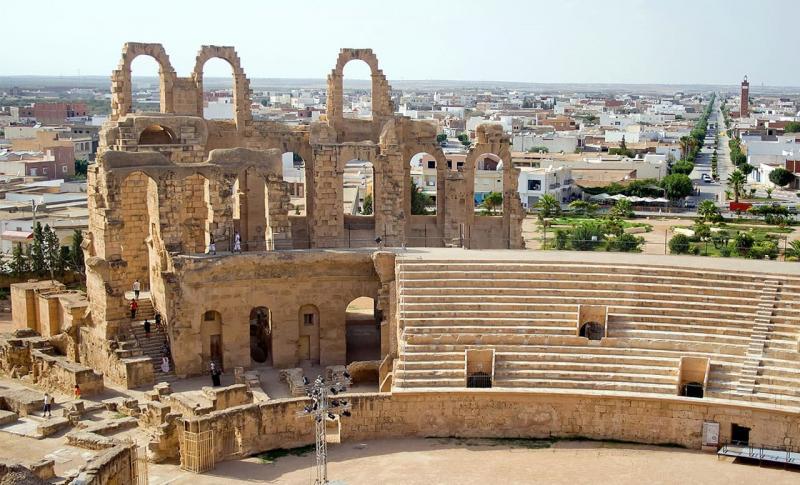 Тунис, Амфитеатр в окрестностях Сусса