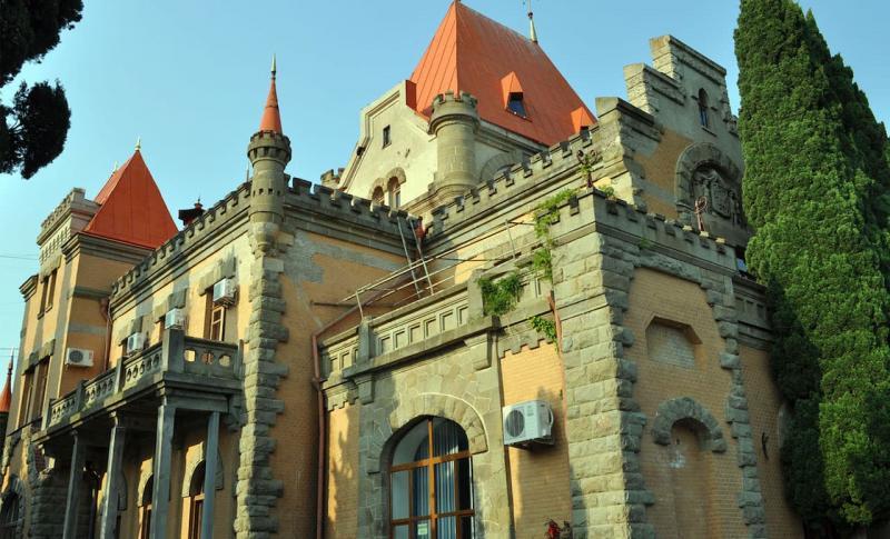 Алушта, Дворец-усадьба княгини Гагариной
