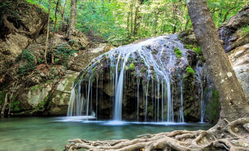 Алушта, Водопад Джур-Джур