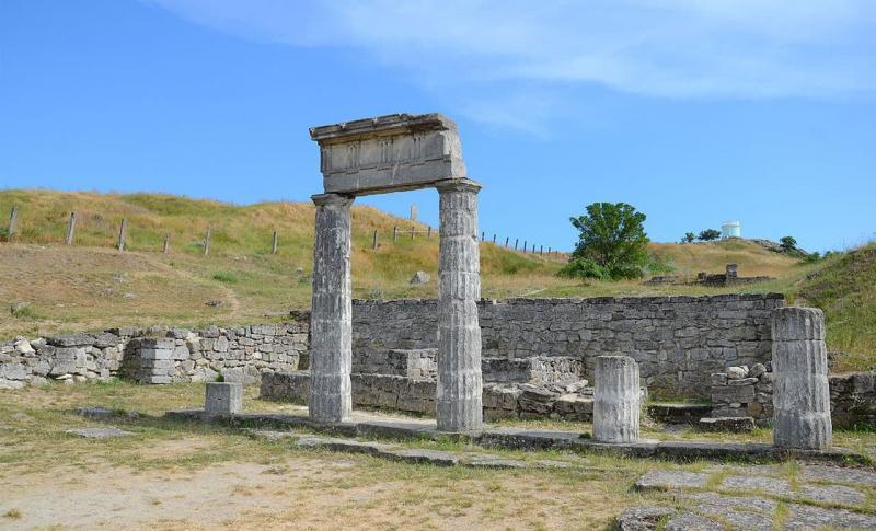 Керчь, Руины древнего Пантикапея