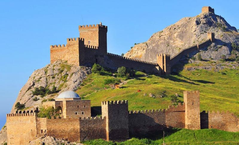 Судак, Генуэзкая крепость в Судаке