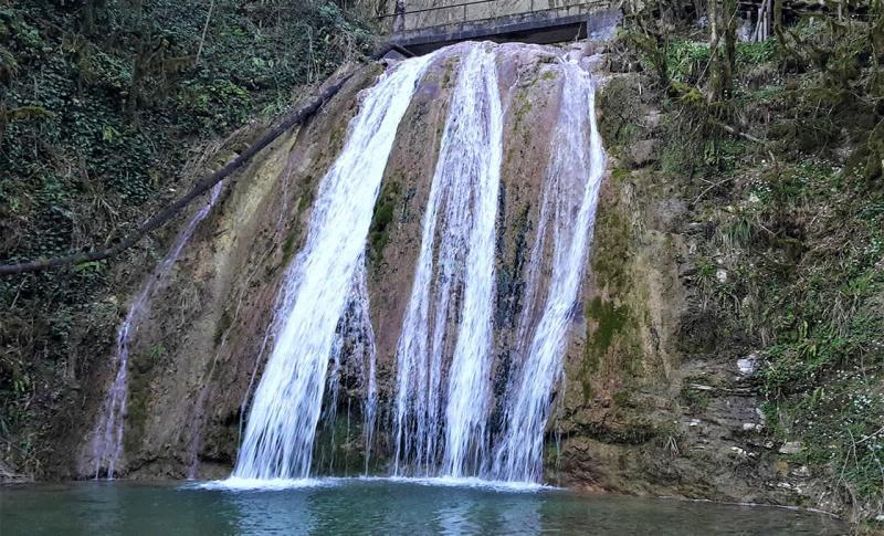 Что посмотреть в Сочи, 33 водопада