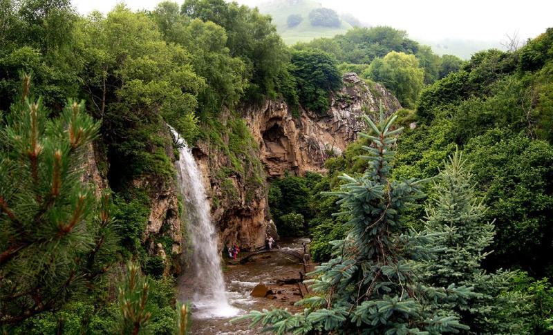 Погода в Сочи в сентябре 2019 года - Агурские водопады