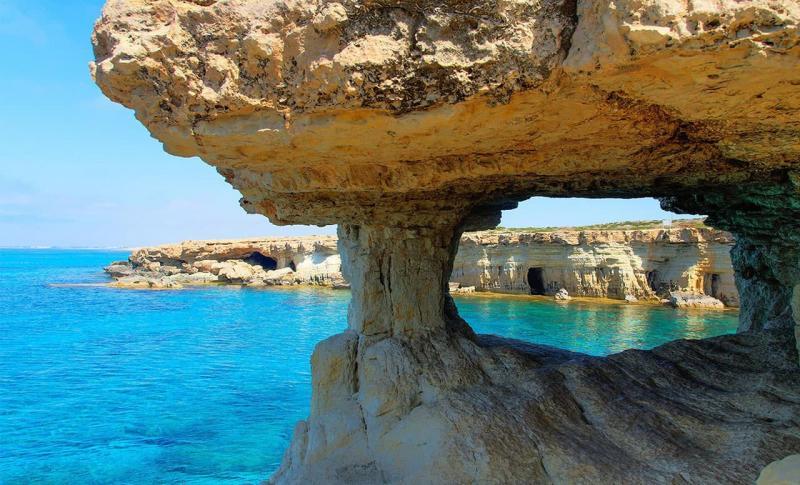 Кипр Айя-напа Мыс Греко
