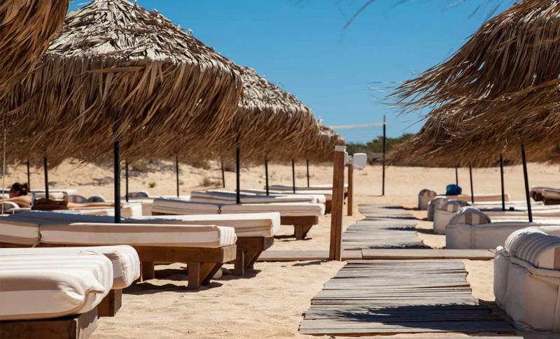 Кипр Айя-напа Пляж Коннос