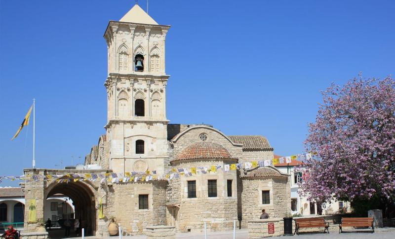 Кипр Ларнака Церковь Святого Лазаря
