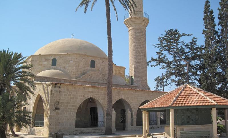 Кипр Ларнака Мечеть Хала Султан Текке
