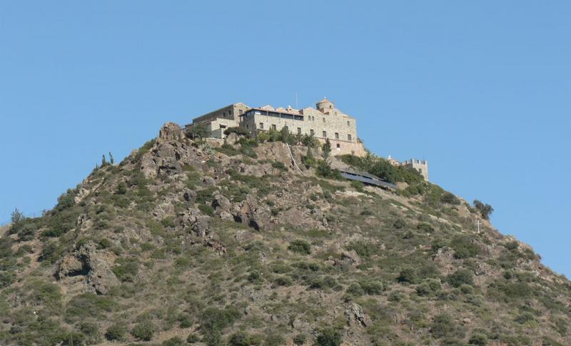 Кипр в сентябре - Ларнака, Монастырь Ставровуни