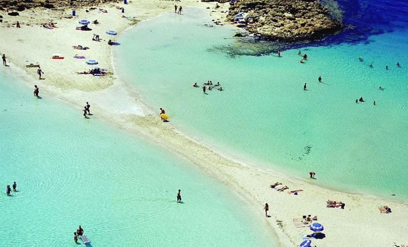 Кипр Протарас Пляж Нисси