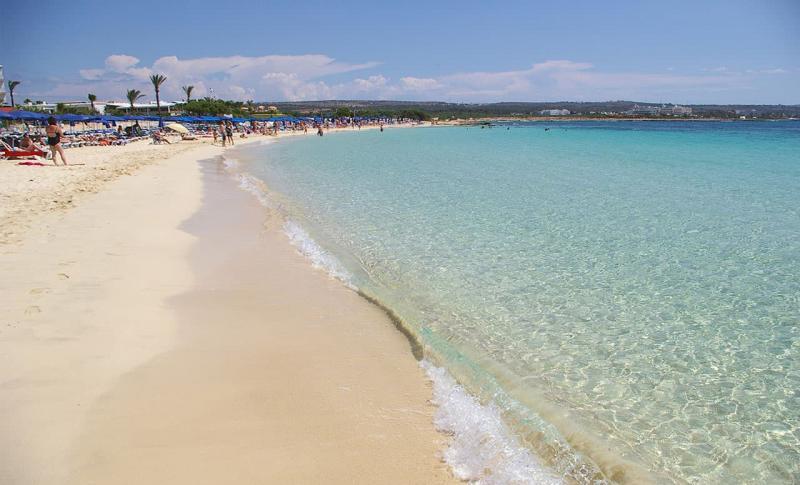 Кипр Протарас Пляж залива Фигового дерева