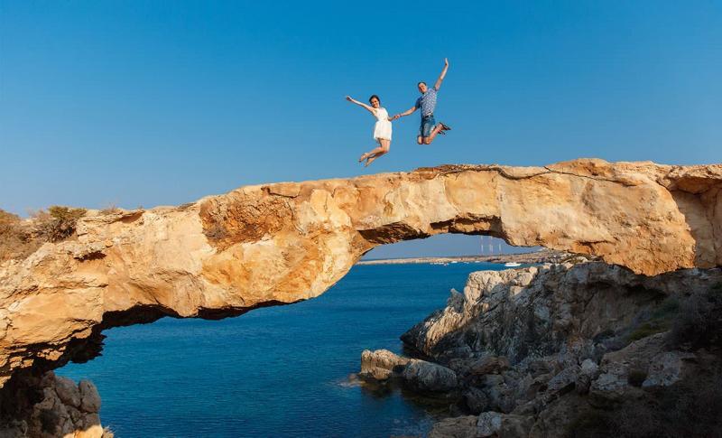 Погода на Кипре в апреле - Айя-Напа, Мыс Греко