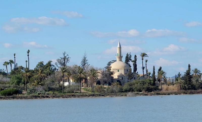Кипр в апреле - Ларнака, Мечеть Хала Султан Текке