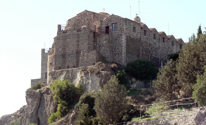 Кипр Ларнака Монастырь Ставровуни