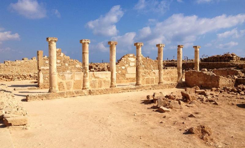 Кипр Пафос Археологический парк Като Пафос