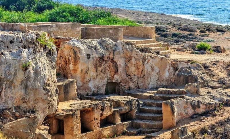 Кипр Пафос Царские гробницы