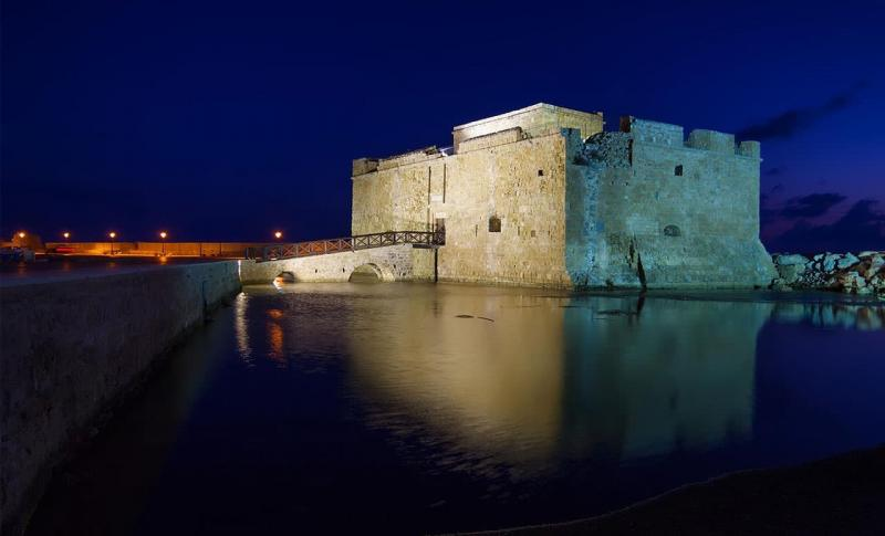 Кипр Пафос Пафосский замок