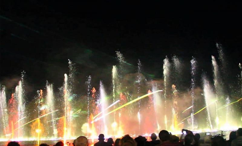 Кипр Протарас Тематический парк Magic Dancing Waters Live Multi-Show